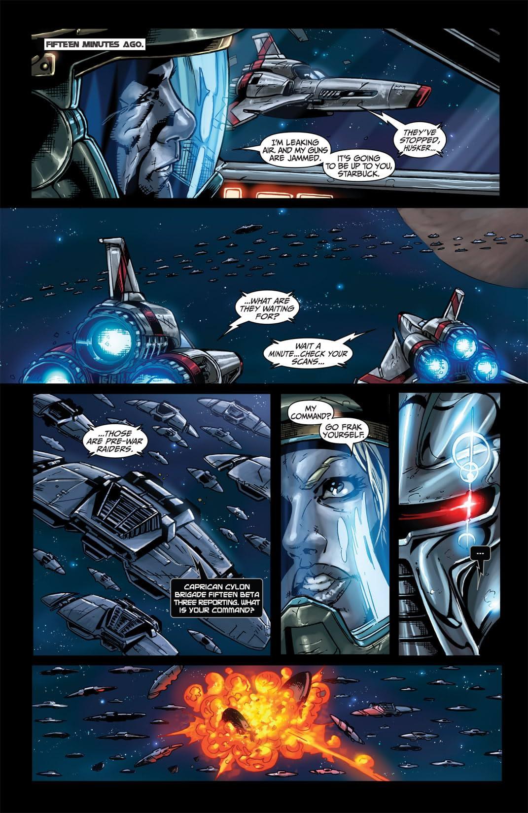 Battlestar Galactica #4