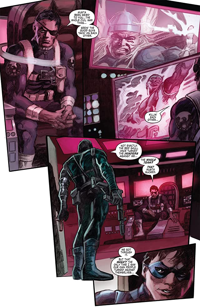 click for super-sized previews of Captain America (2004-2011) #601