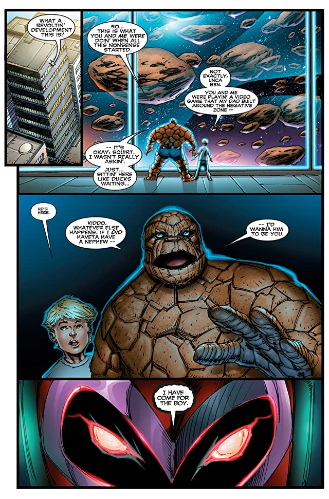 click for super-sized previews of Onslaught Reborn #5