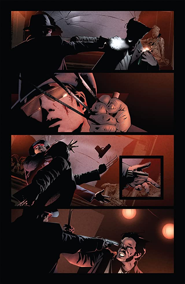 click for super-sized previews of X-Men Noir #3