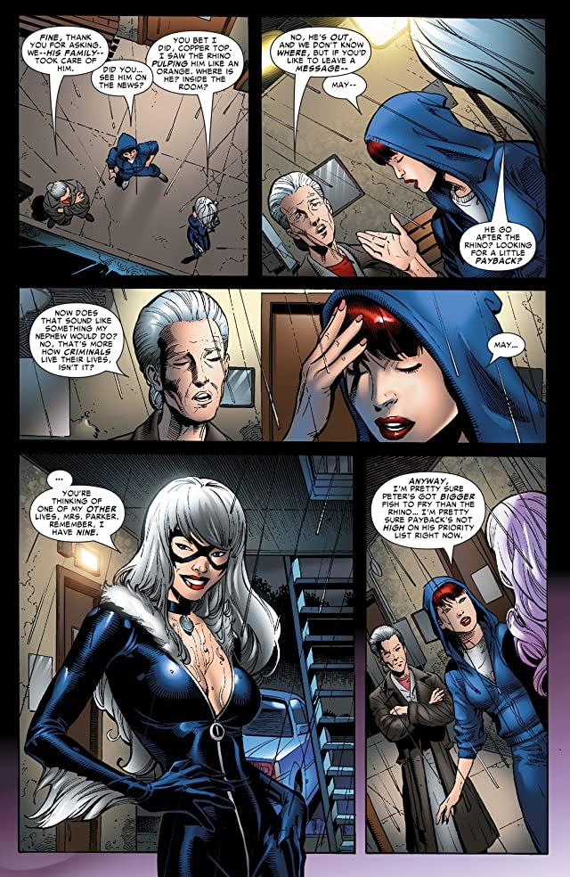 click for super-sized previews of Sensational Spider-Man (2006-2007) #34
