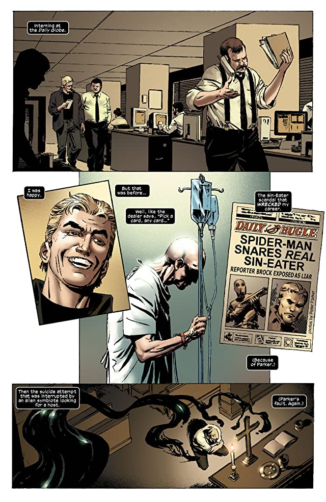 click for super-sized previews of Sensational Spider-Man (2006-2007) #38