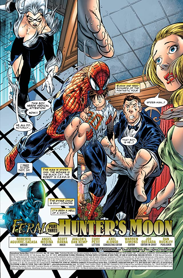 click for super-sized previews of Sensational Spider-Man (2006-2007) #25