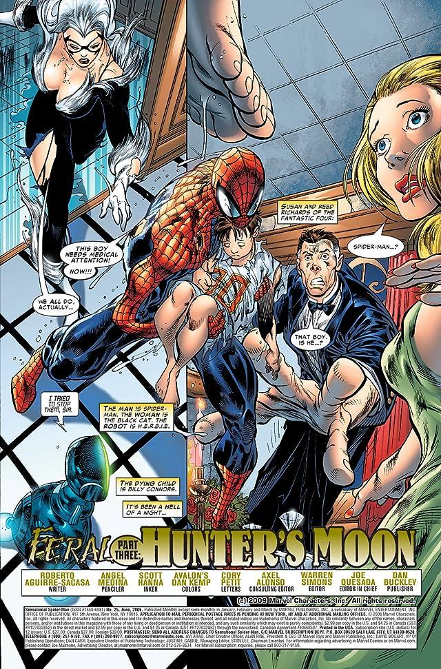click for super-sized previews of Sensational Spider-Man (2006-2007) #25