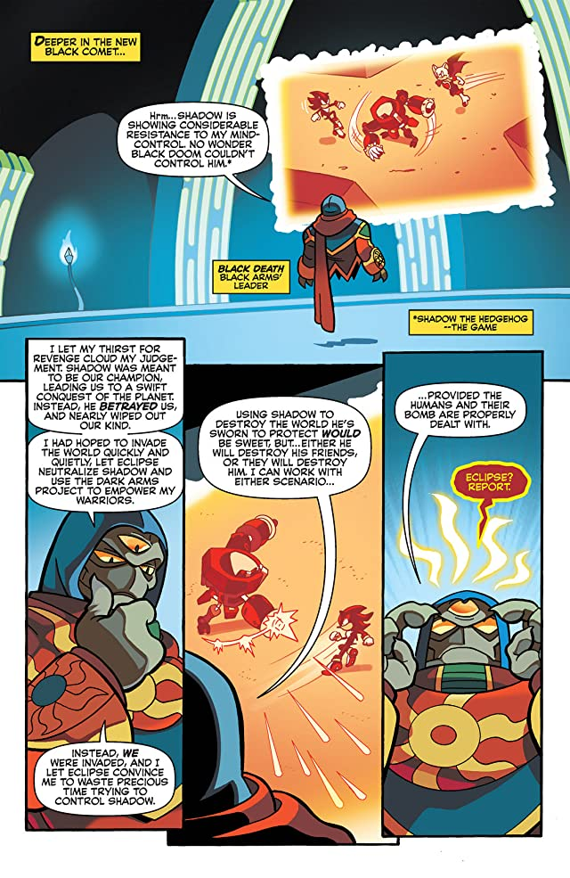click for super-sized previews of Sonic Universe #61