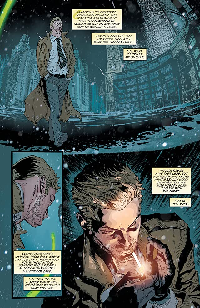Constantine (2013-2015) Vol. 1: The Spark and the Flame