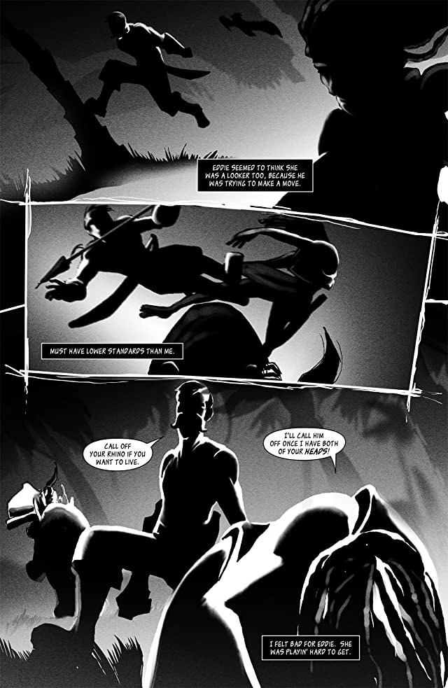click for super-sized previews of Sam Noir: Ronin Holiday #2 (of 3)