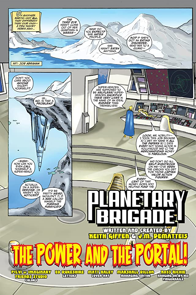 click for super-sized previews of Planetary Brigade #1