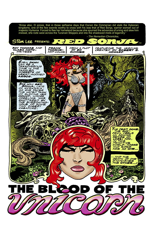 click for super-sized previews of The Adventures of Red Sonja Vol. 2