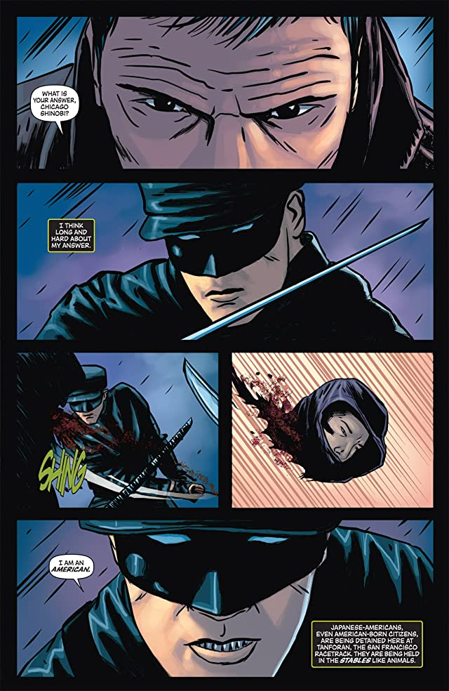 click for super-sized previews of Kato Origins: Way of the Ninja #5