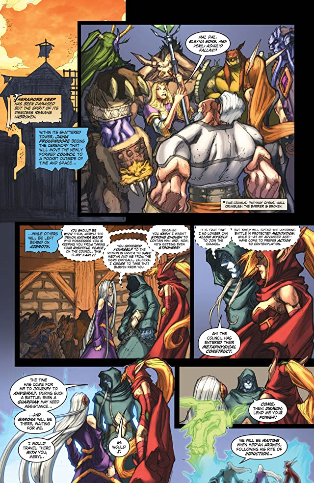 click for super-sized previews of World of Warcraft #25