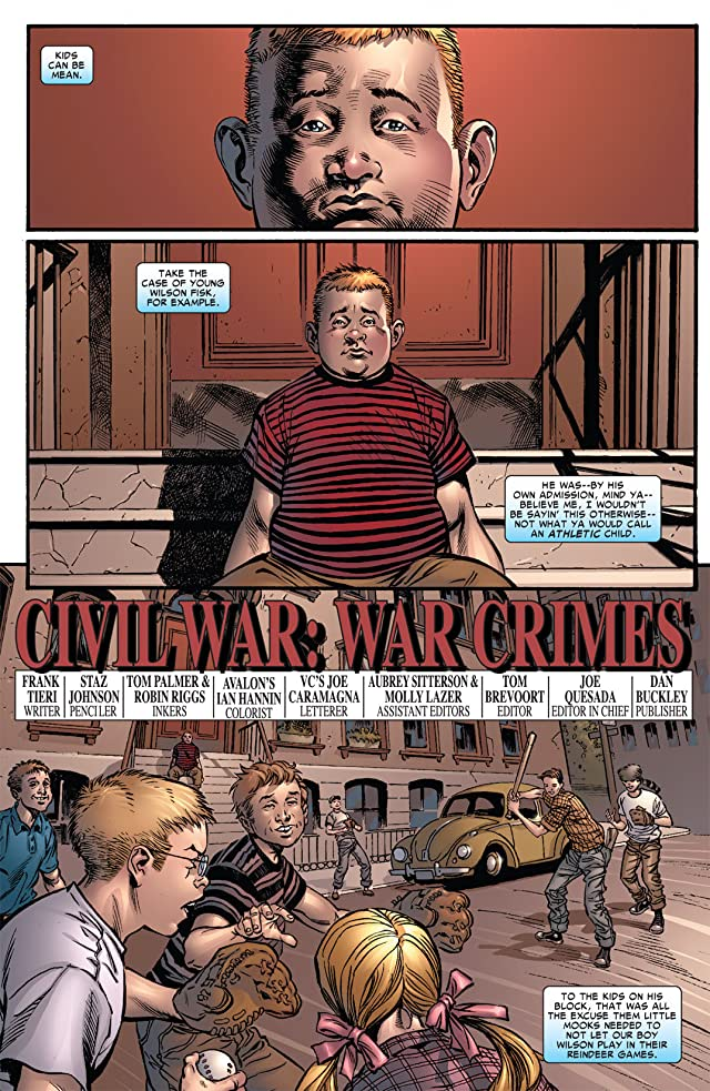 click for super-sized previews of Civil War: War Crimes #1