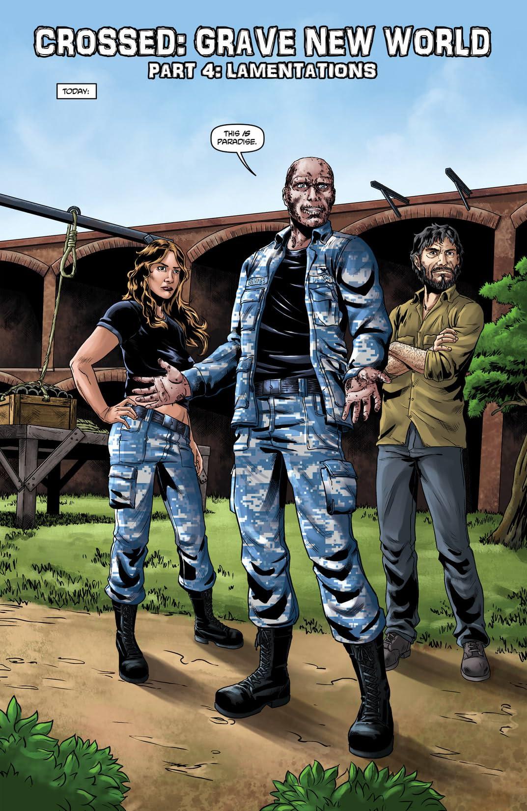 Crossed: Badlands #47