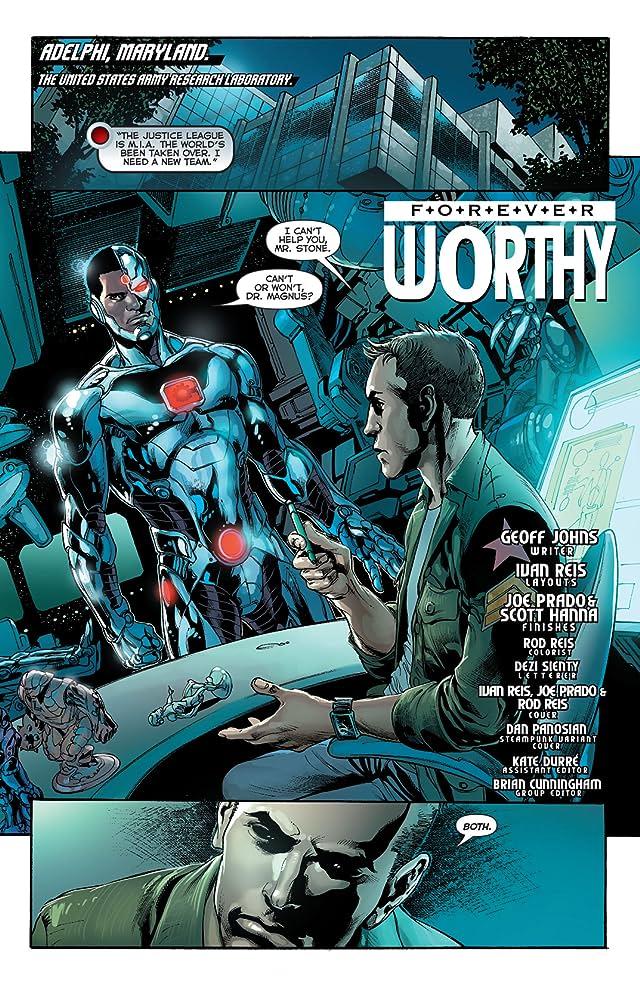 Justice League (2011-) #28