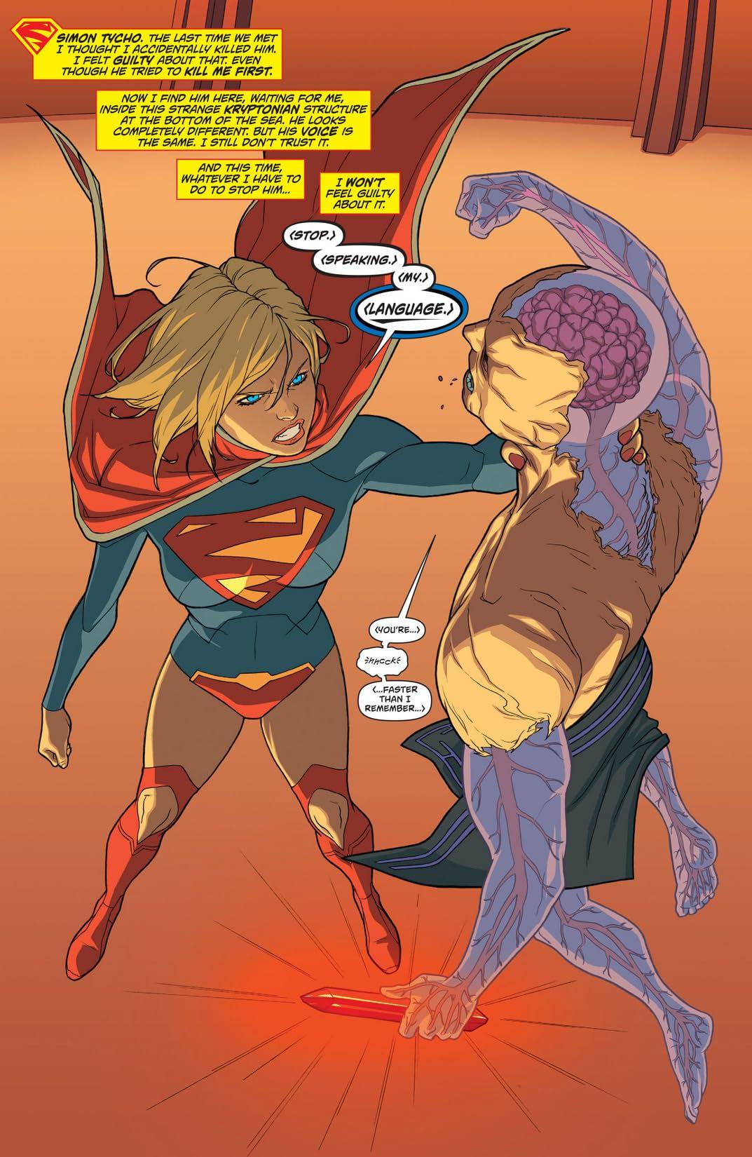 Supergirl (2011-2015) Vol. 3: Sanctuary