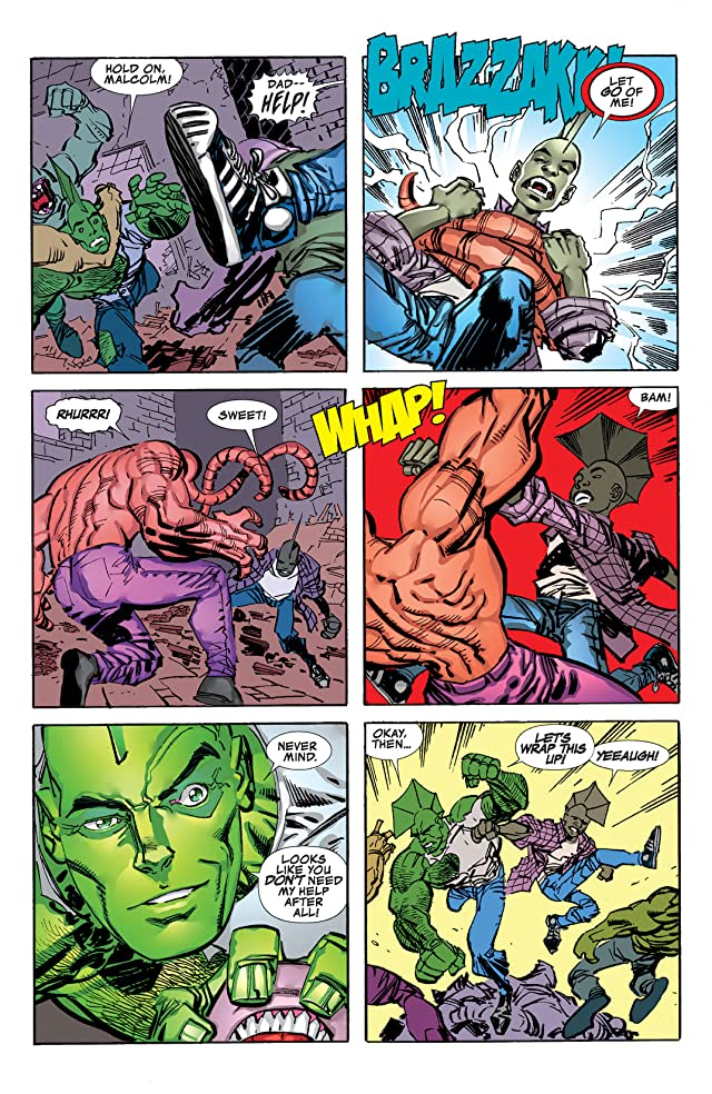 click for super-sized previews of Savage Dragon #193