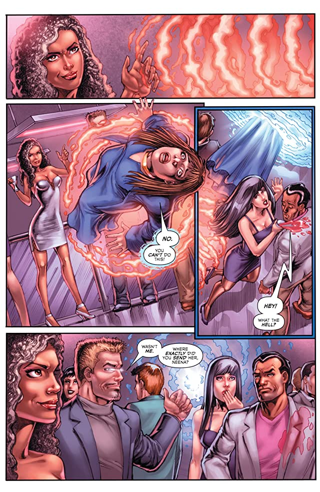 click for super-sized previews of Charmed #1