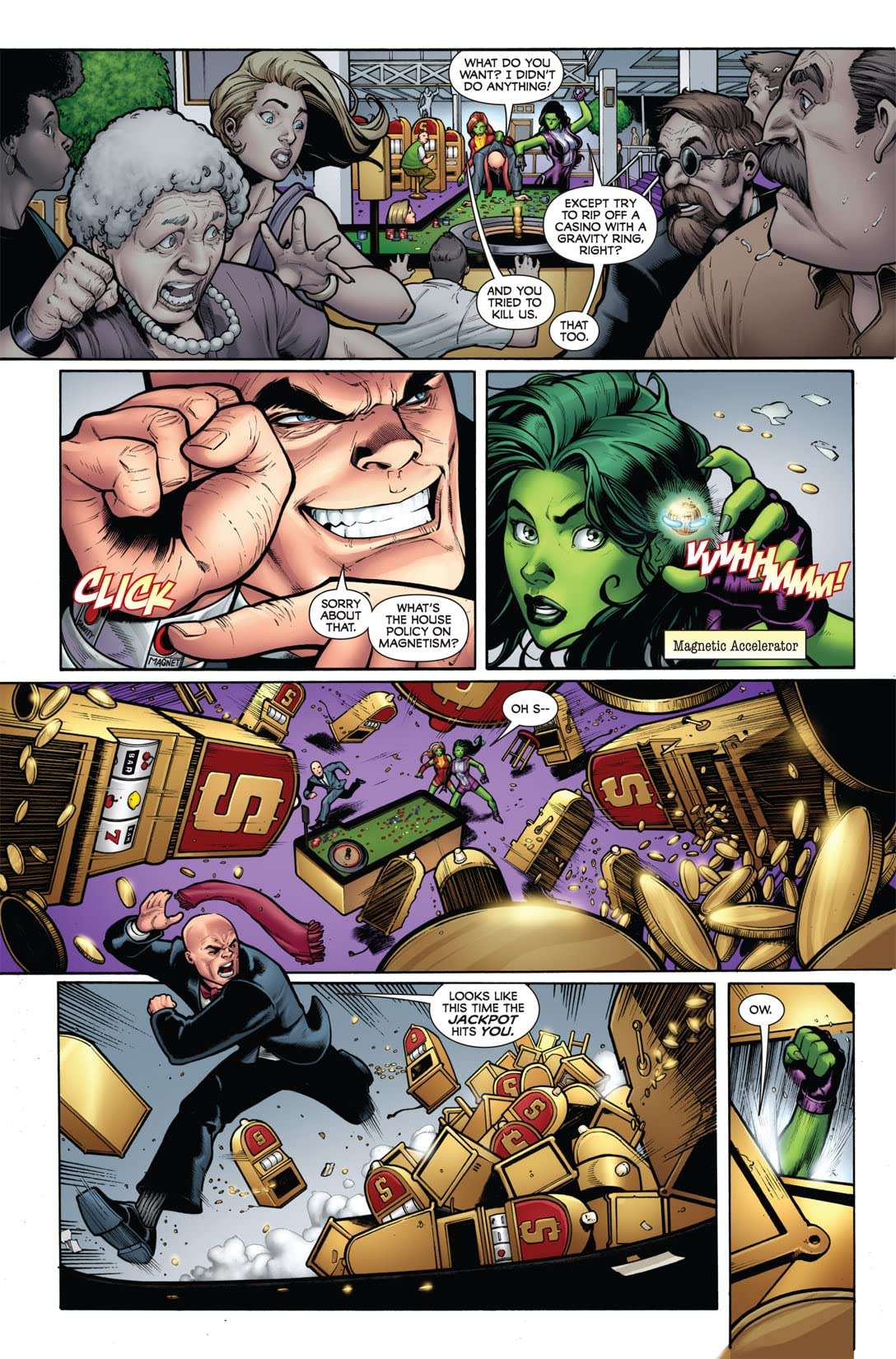 She-Hulks (2010-2011) #1 (of 4)