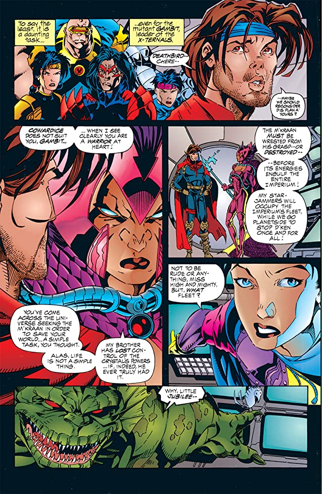 click for super-sized previews of Gambit & The X-Ternals #3