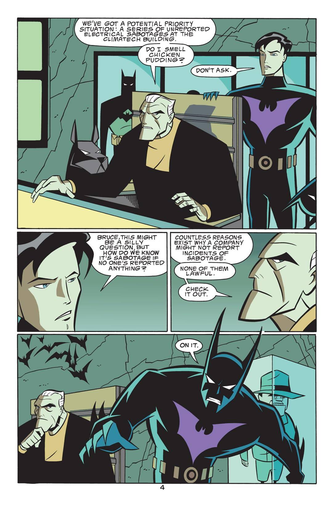 Batman Beyond (1999-2001) #15