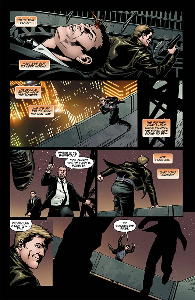 click for super-sized previews of Human Target (2010) #1