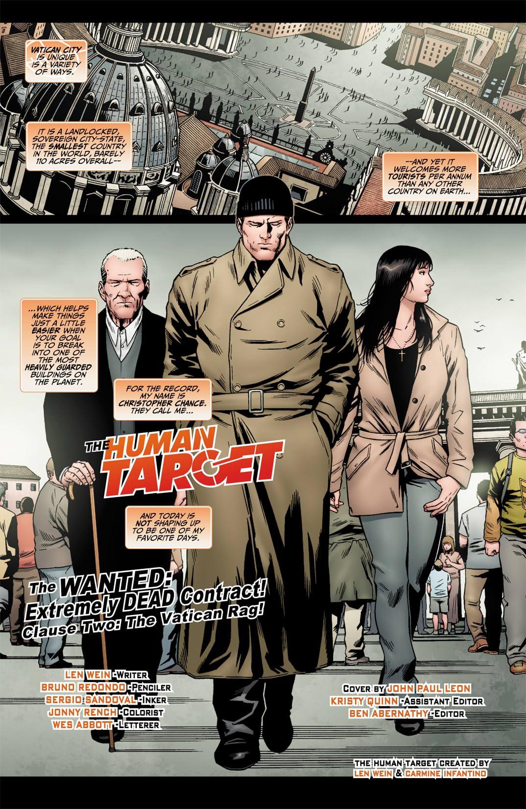 Human Target (2010) #2 (of 6)