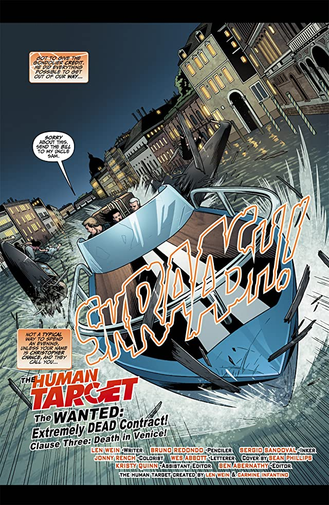 click for super-sized previews of Human Target (2010) #3
