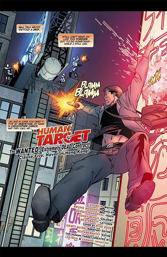 click for super-sized previews of Human Target (2010) #5 (of 6)