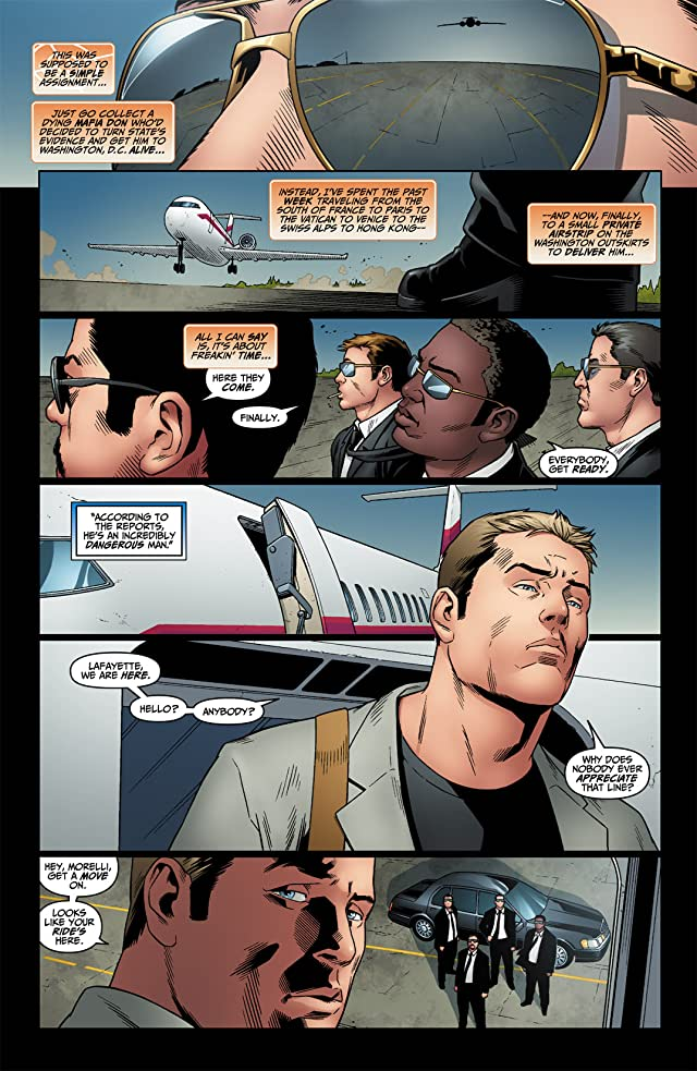 click for super-sized previews of Human Target (2010) #6 (of 6)
