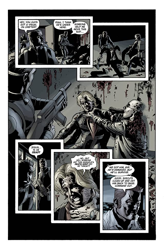 click for super-sized previews of Sleeper: Season Two #12