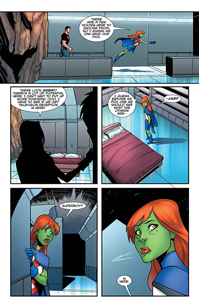 click for super-sized previews of Young Justice (2011-2013) #1