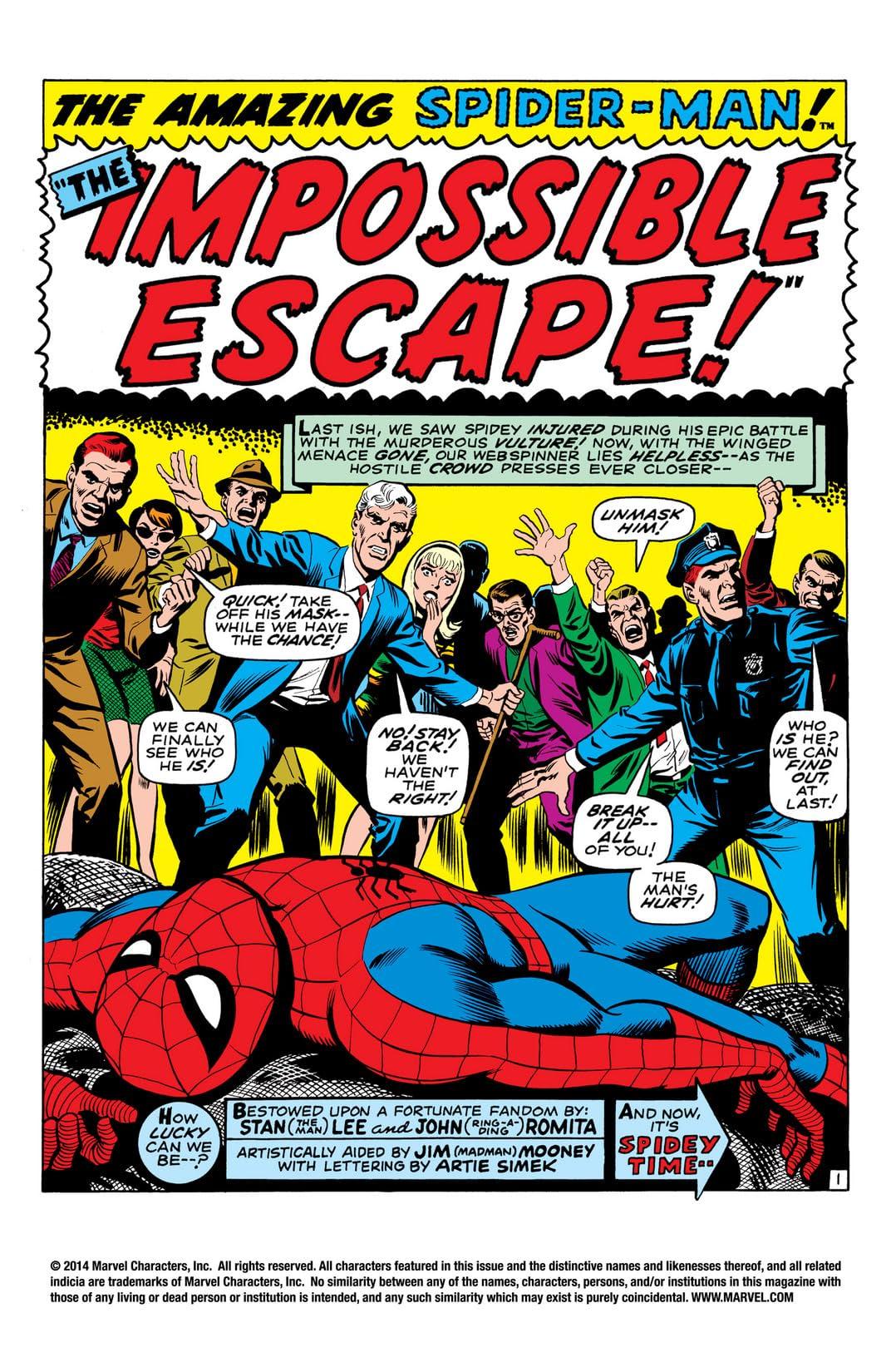 Amazing Spider-Man (1963-1998) #65