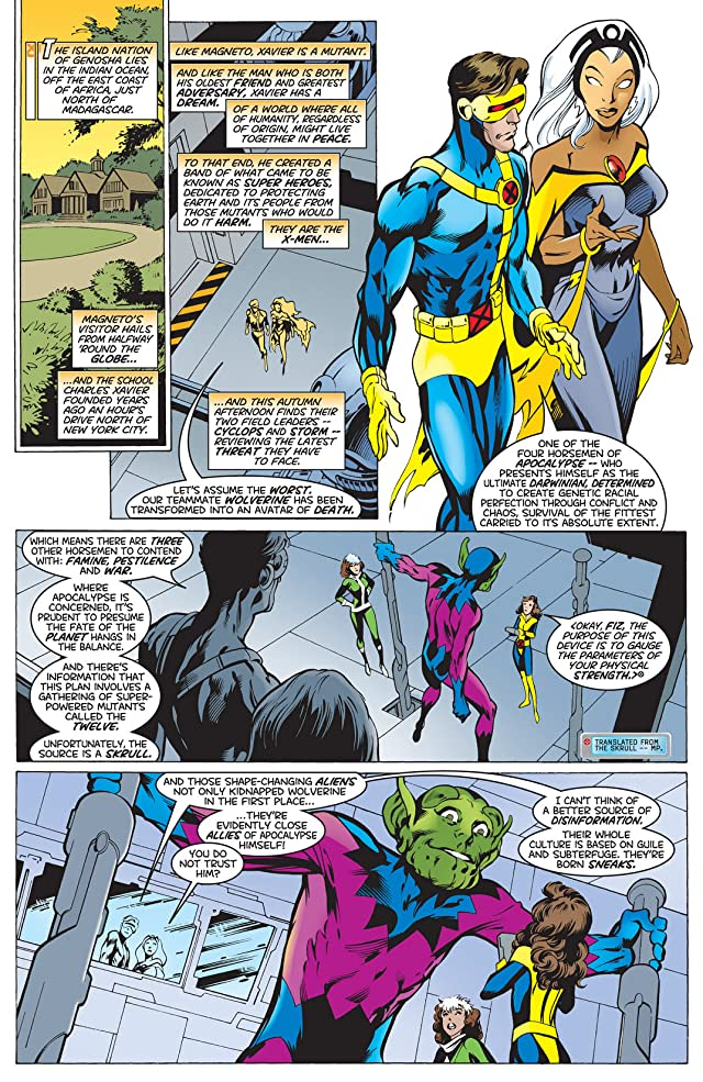 click for super-sized previews of X-Men (1991-2001) #96