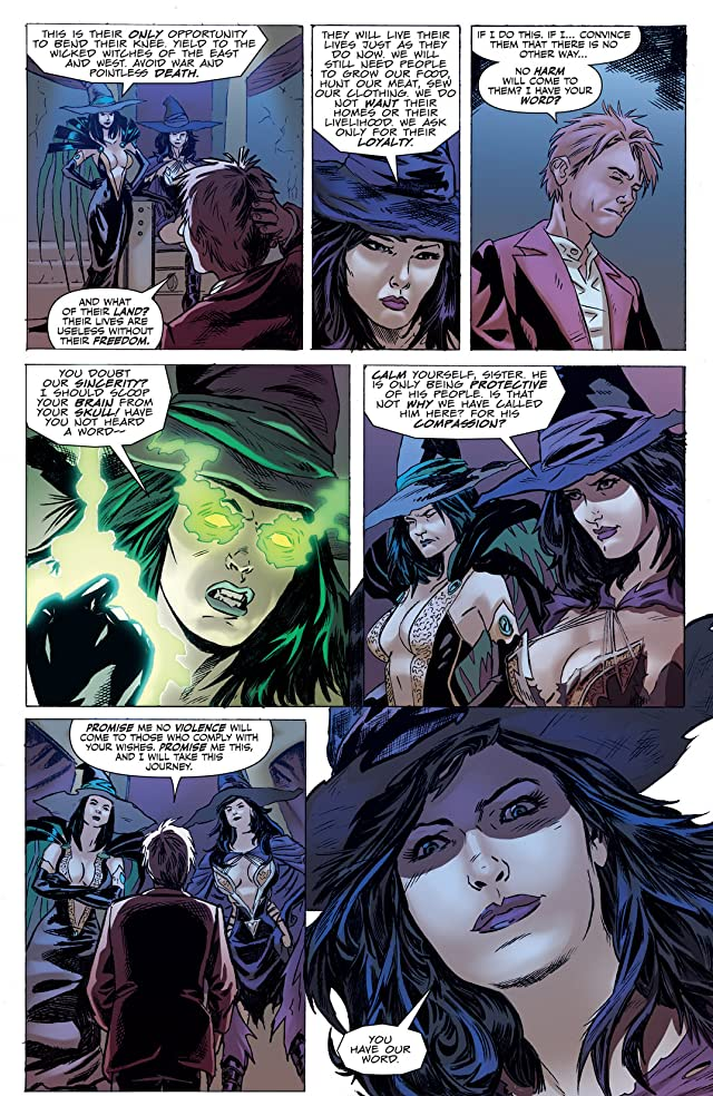 click for super-sized previews of Tales From Oz: The Scarecrow #3