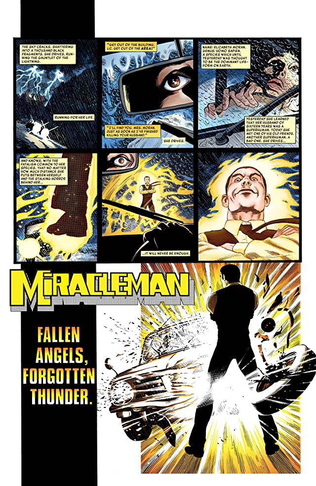 click for super-sized previews of Miracleman: Parental Advisory Edition #3