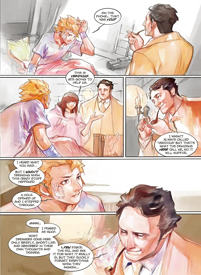 click for super-sized previews of Makeshift Miracle #9