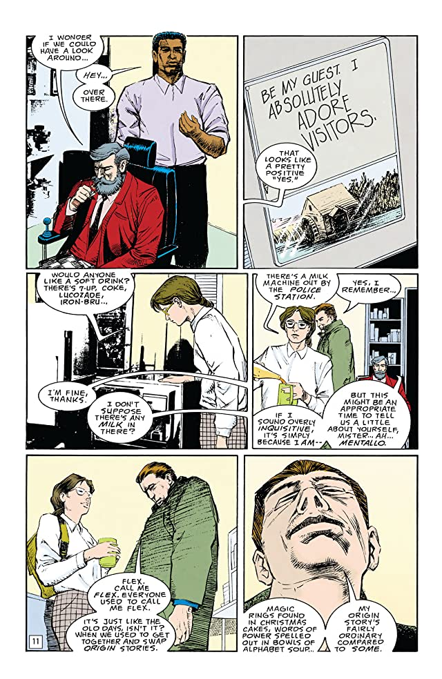 click for super-sized previews of Doom Patrol (1987-1995) Vol. 4: Musclebound