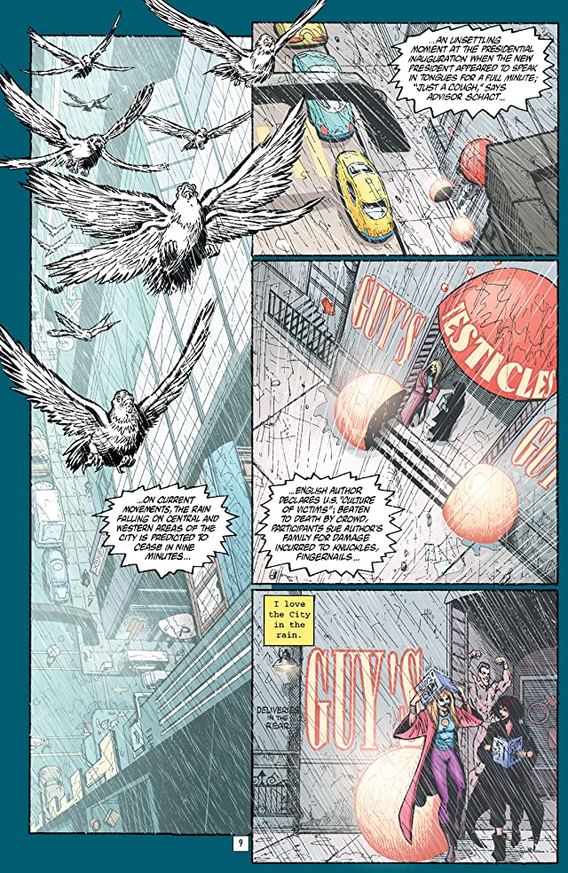 click for super-sized previews of Transmetropolitan Vol. 5: Lonely City