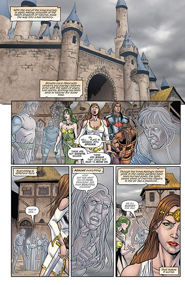 click for super-sized previews of Grimm Fairy Tales : Quest #4