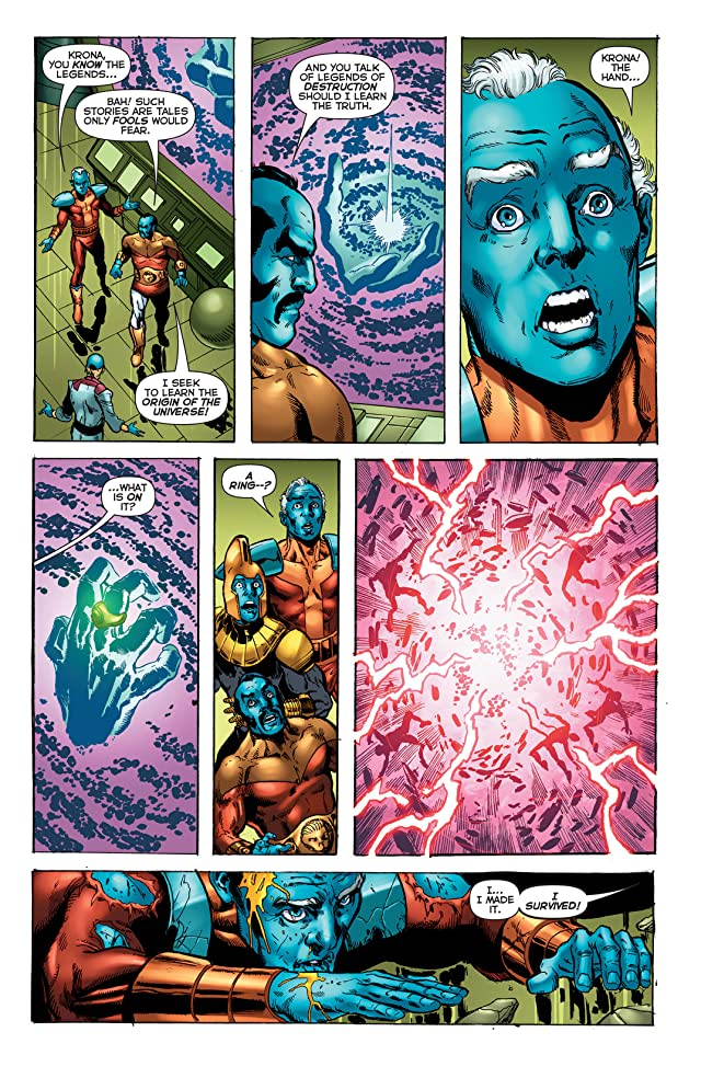 click for super-sized previews of Green Lantern: Wrath of the First Lantern