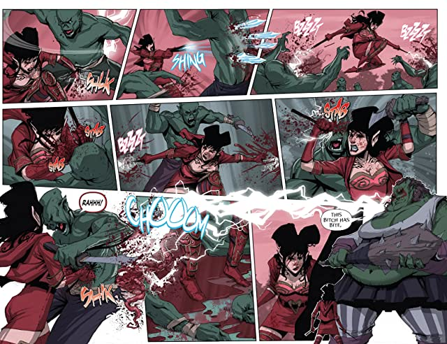 click for super-sized previews of Rat Queens #5
