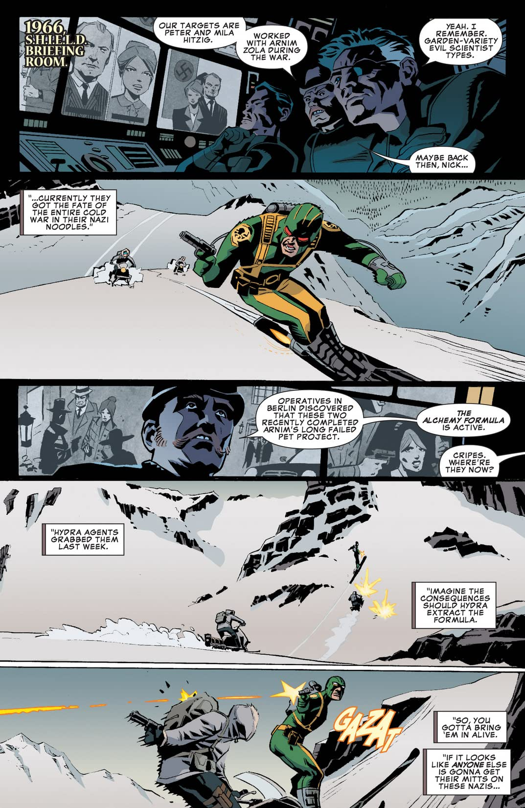 Winter Soldier: The Bitter March #1 (of 5)