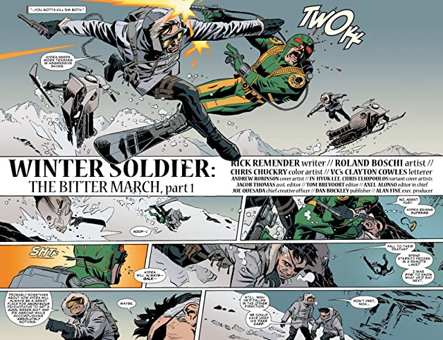 click for super-sized previews of Winter Soldier: The Bitter March #1