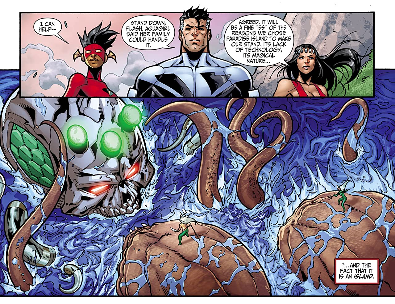 Justice League Beyond 2.0 (2013-2014) #14
