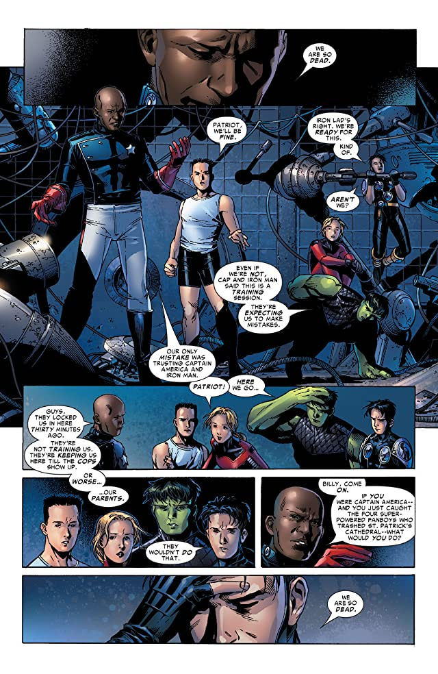 click for super-sized previews of Young Avengers (2005-2006) #4