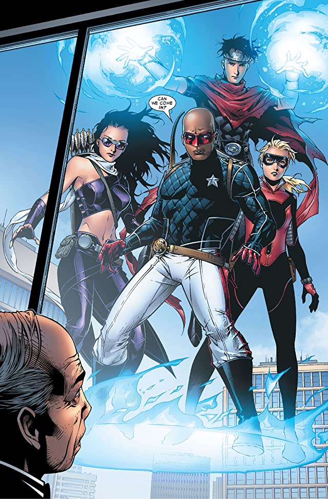 click for super-sized previews of Young Avengers (2005-2006) #10