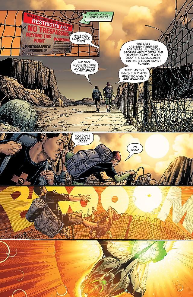 click for super-sized previews of Green Lantern: Rebirth #1