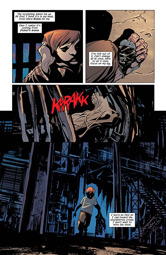 click for super-sized previews of Batman: Streets of Gotham #11