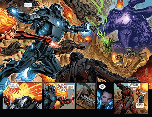 click for super-sized previews of Iron Man (2012-) #22