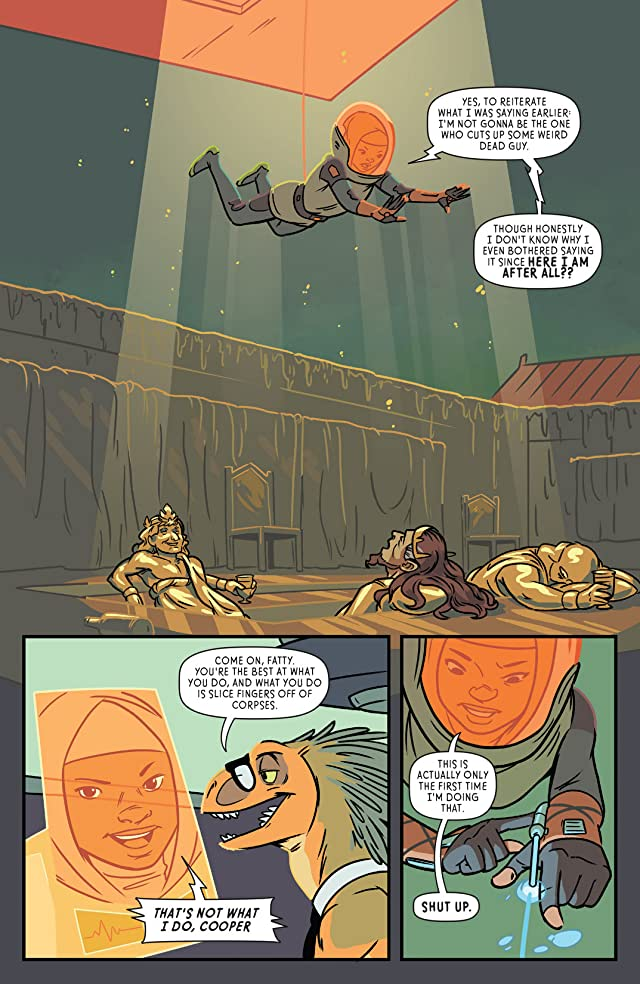 click for super-sized previews of The Midas Flesh #3